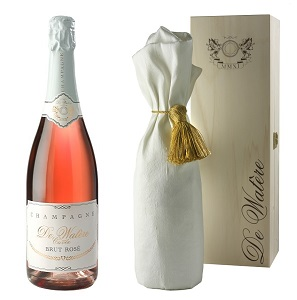 De Watère Champagne Brut Rose All SML